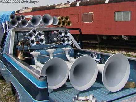 Train horns australia 2014